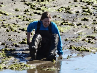 Playing in the pluff mud