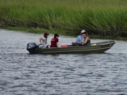 Student boat use training