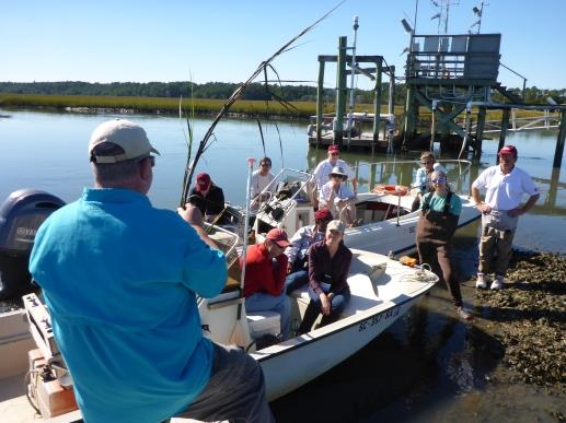 Alumni Weekend at the Baruch Marine Field Lab